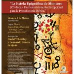 El próximo 6 de marzo se presenta al público la estela epigráfica de Montoro (Córdoba)