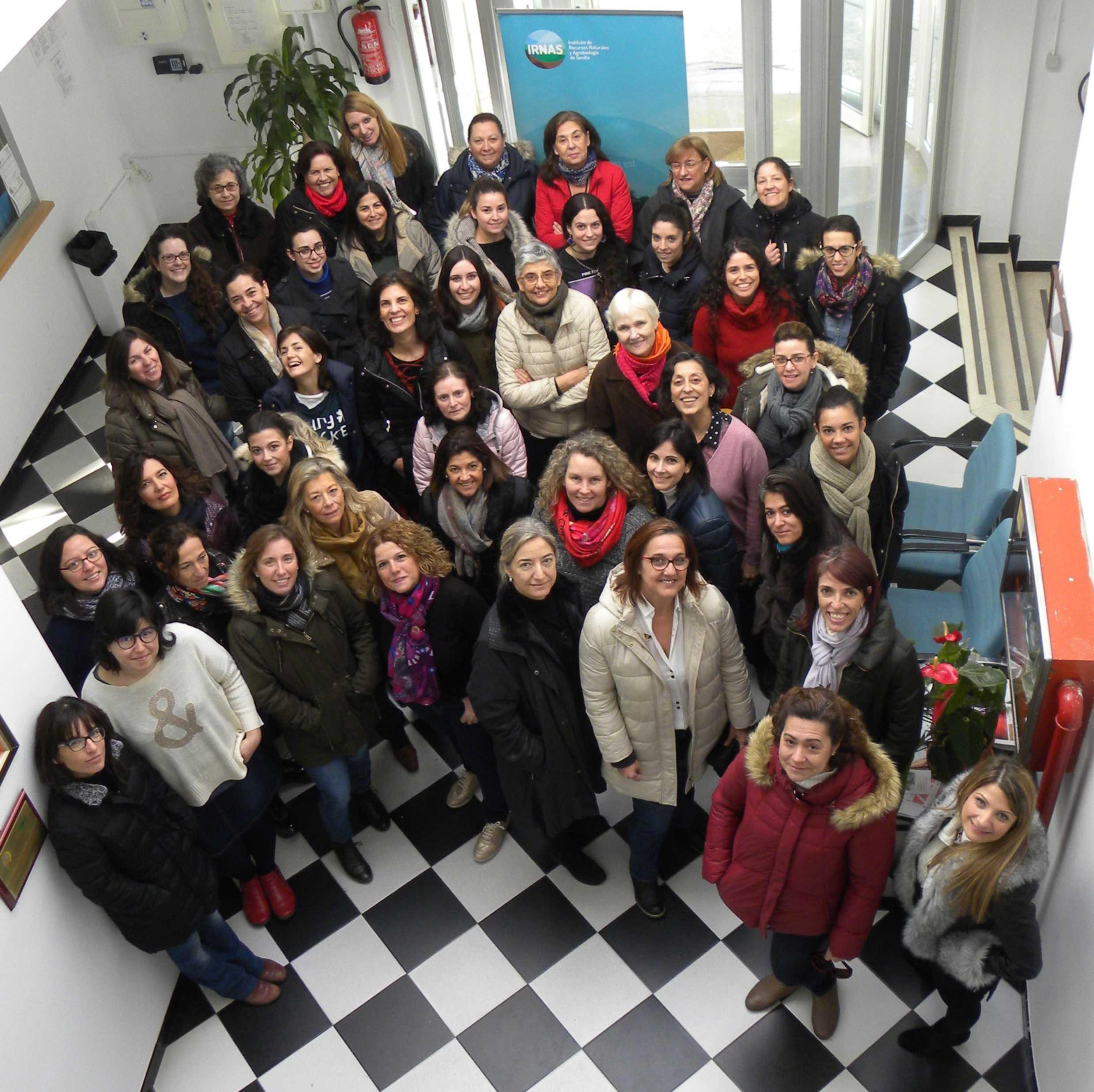 mujeres en paraguay sevilla