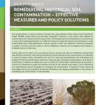 Policy Conference at Brussels on Preventing and Remediating Degraded Soils