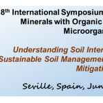 8th International Symposium of Interactions of Soil Minerals with Organic Components and Microorganisms (ISMOM2019)