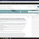 Un miembro del grupo de Microbiología Ambiental y Patrimonio Cultural del IRNAS interviene en un importante estudio multidisciplinar sobre la estela prehistórica de Almargen